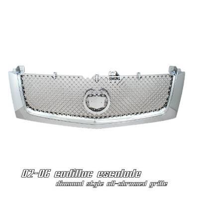 OptionRacing - Cadillac Escalade Option Racing Diamond Grille - 65-14103