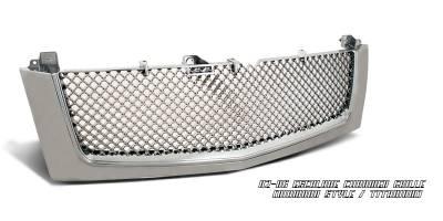 OptionRacing - Cadillac Escalade Option Racing Diamond Grille - 65-14104
