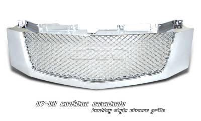 OptionRacing - Cadillac Escalade Option Racing Diamond Grille - 65-14105