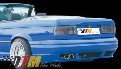 DTM Fiberwerkz - BMW 3 Series DTM Fiberwerkz RG GTS Style Rear Bumper - E30-RG-GTS-S