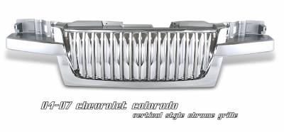 OptionRacing - Chevrolet Colorado Option Racing Vertical Grille - 65-15112