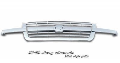 OptionRacing - Chevrolet Silverado Option Racing Billet Grille - 65-15117