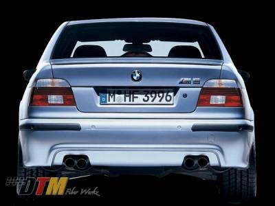 DTM Fiberwerkz - BMW 5 Series DTM Fiberwerkz OEM M5 Style Rear Bumper - E39M5REAR