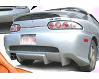 FX Design - Mazda MX3 FX Design Rear Bumper Cover - FX-1001