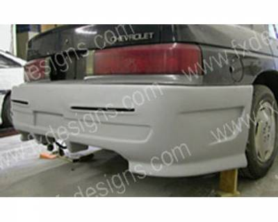 FX Designs - Chevrolet Corsica FX Design Xtreme Style Rear Bumper Cover - FX-1046