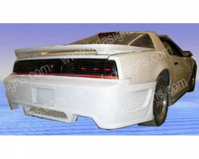 FX Design - Pontiac Firebird FX Design Rear Bumper - FX-1056