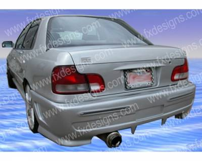FX Design - Hyundai Elantra FX Design Rear Bumper Cover - FX-1061