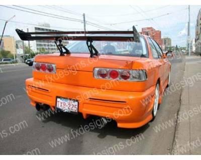 FX Designs - Acura Integra FX Design Xtreme Style Rear Bumper Cover - FX-722