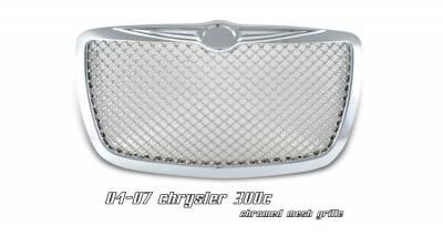 OptionRacing - Chrysler 300 Option Racing Diamond Grille - 65-16136