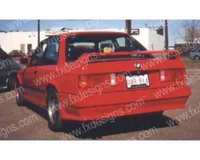 FX Designs - BMW 3 Series FX Design Rear Bumper Cover - FX-725
