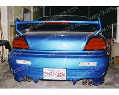 FX Designs - Pontiac Grand Am FX Design Xtreme Style Rear Bumper - FX-751