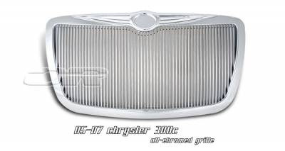 OptionRacing - Chrysler 300 Option Racing Vertical Grille - 65-16138