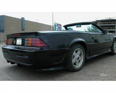 FX Designs - Chevrolet Camaro FX Design Xtreme Style Rear Bumper Cover - FX-755