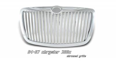 OptionRacing - Chrysler 300 Option Racing Vertical Grille - 65-16140
