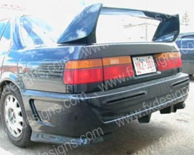 FX Designs - Honda Accord FX Design Xtreme Style Rear Bumper - FX-759