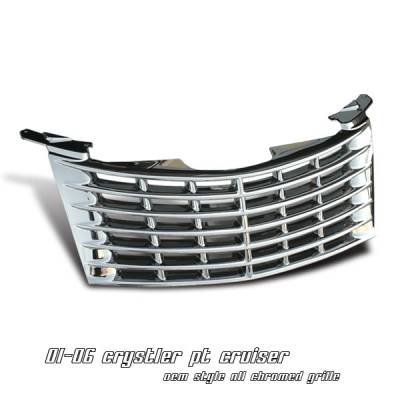OptionRacing - Chrysler PT Cruiser Option Racing OEM Grille - 65-16142