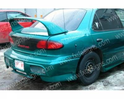 FX Designs - Pontiac Sunfire FX Design VS Style Rear Bumper Cover - FX-920