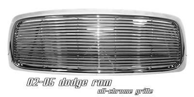 OptionRacing - Dodge Ram Option Racing Billet Grille - 65-17151