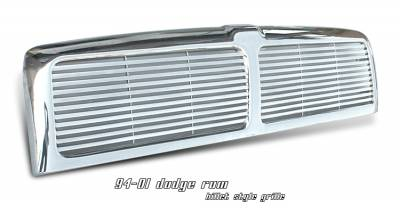 OptionRacing - Dodge Ram Option Racing Billet Grille - 65-17156