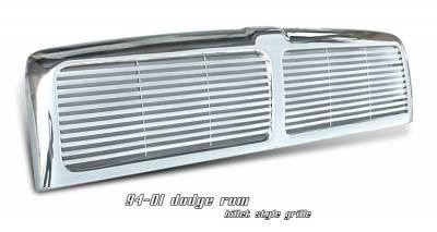 OptionRacing - Dodge Ram Option Racing Billet Grille - 65-17156