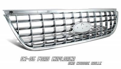 OptionRacing - Ford Explorer Option Racing OEM Grille - 65-18160