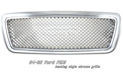 OptionRacing - Ford F150 Option Racing Bentley Grille - 65-18162