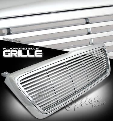 OptionRacing - Ford F150 Option Racing Billet Grille - 65-18163