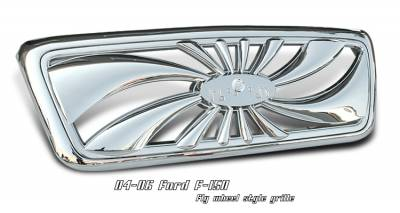 OptionRacing - Ford F150 Option Racing Fly Wheel Grille - 65-18164