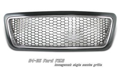 OptionRacing - Ford F150 Option Racing Honeycomb Grille - 65-18165