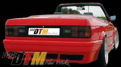 DTM Fiberwerkz - BMW 3 Series DTM Fiberwerkz RG E46 Style Rear Bumper - E30 RG E46 S