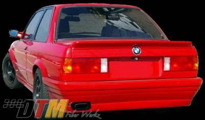 DTM Fiberwerkz - BMW 3 Series DTM Fiberwerkz BRYTN Style Rear Bumper - E30 BRYTN St