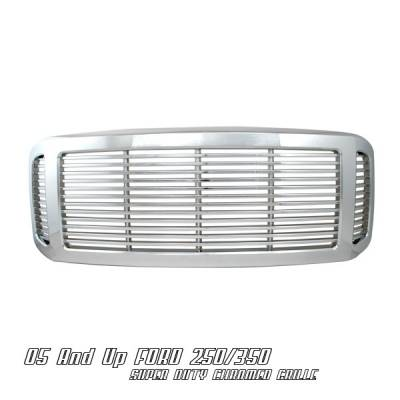 OptionRacing - Ford Superduty Option Racing Billet Grille - 65-18179