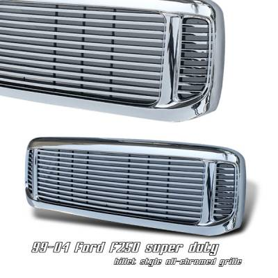 OptionRacing - Ford Superduty Option Racing Billet Grille - 65-18181