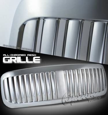 OptionRacing - Ford Superduty Option Racing Vertical Grille - 65-18185