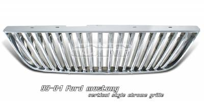 OptionRacing - Ford Mustang Option Racing Vertical Grille - 65-18187