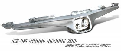 OptionRacing - Honda Accord Option Racing OEM Grille - 65-20204