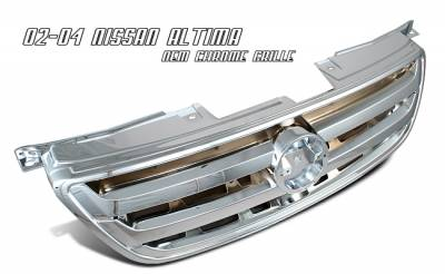 OptionRacing - Nissan Altima Option Racing OEM Grille - 65-36215