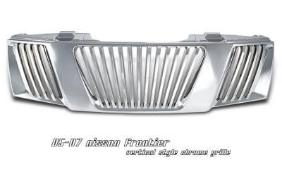 OptionRacing - Nissan Frontier Option Racing Vertical Grille - 65-36216