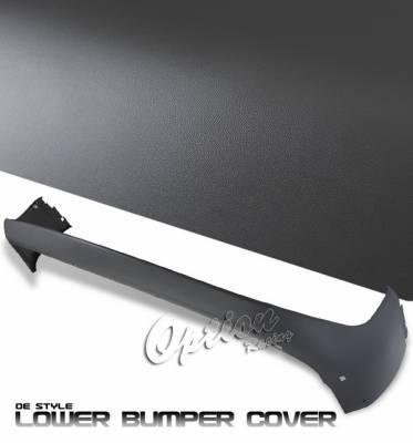 OptionRacing - Dodge Ram Option Racing Bumper Cover - Bumper Cover - Grey Black Grille - 80-17130