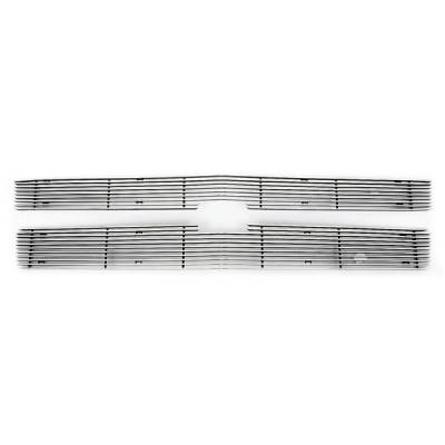 Pilot - Chevrolet Silverado Pilot Bolt-On Billet Grille - Horizontal - Set - BG-162