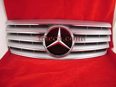 Pro - W202 Silver Grille