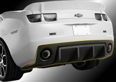 Innovatative Vehicle Solutions - Chevrolet Camaro IVS Havoc Rear Diffuser - 9006-1006-01