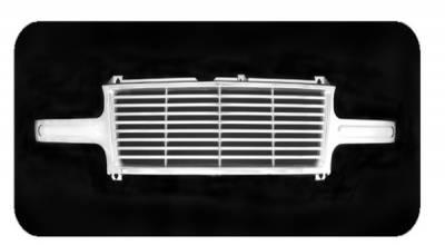 Pilot - Chevrolet Silverado Pilot Performance Grille - Billet Style - 1PC - PFG-1105