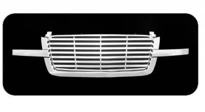 Pilot - Chevrolet Silverado Pilot Performance Grille - Billet Style - 1PC - PFG-1106