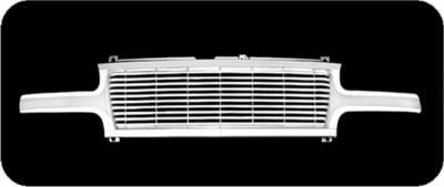Pilot - Chevrolet Silverado Pilot Performance Grille - Countoured Style - 1PC - PFG-1205