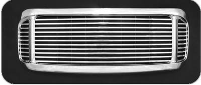 Pilot - Ford F350 Superduty Pilot Performance Grille - Billet Style - 1PC - PFG-2104