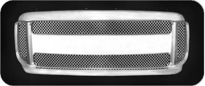 Pilot - Ford F250 Superduty Pilot Performance Grille - Sport Mesh Style - 1PC - PFG-2504