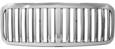 Pilot - Ford F250 Superduty Pilot Performance Grille - Vertical Blade Style - 1PC - PFG-2604