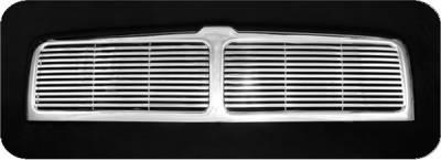 Pilot - Dodge Ram Pilot Performance Grille - Billet Style - 1PC - PFG-3102