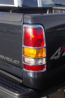 Putco - Chevrolet Silverado Putco Taillight Covers - 400804